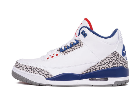 "AIR JORDAN 3 RETRO OG ""TRUE BLUE"" - (PRESCHOOL)"