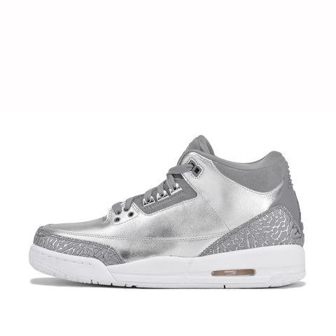 "AIR JORDAN 3 RETRO PRM HC (GG) ""CHROME"""