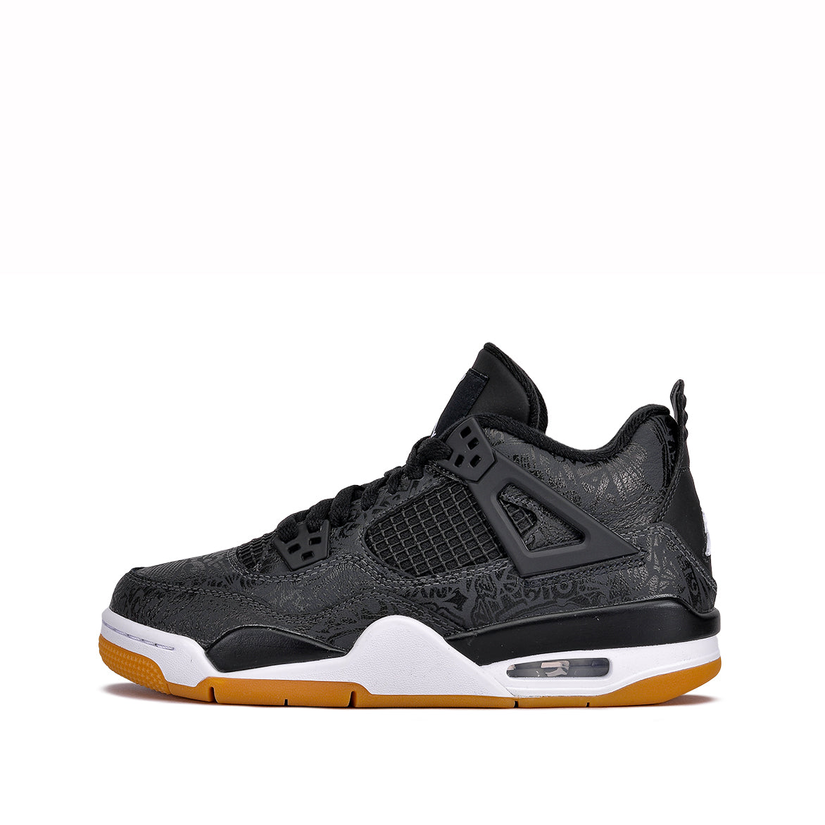 "AIR JORDAN 4 RETRO SE (GS) ""BLACK LASER"""