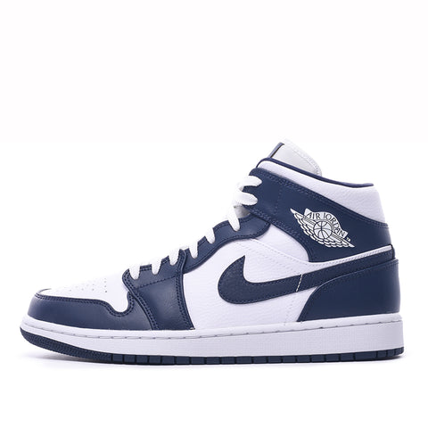 AIR JORDAN 1 MID - WHITE / OBSIDIAN