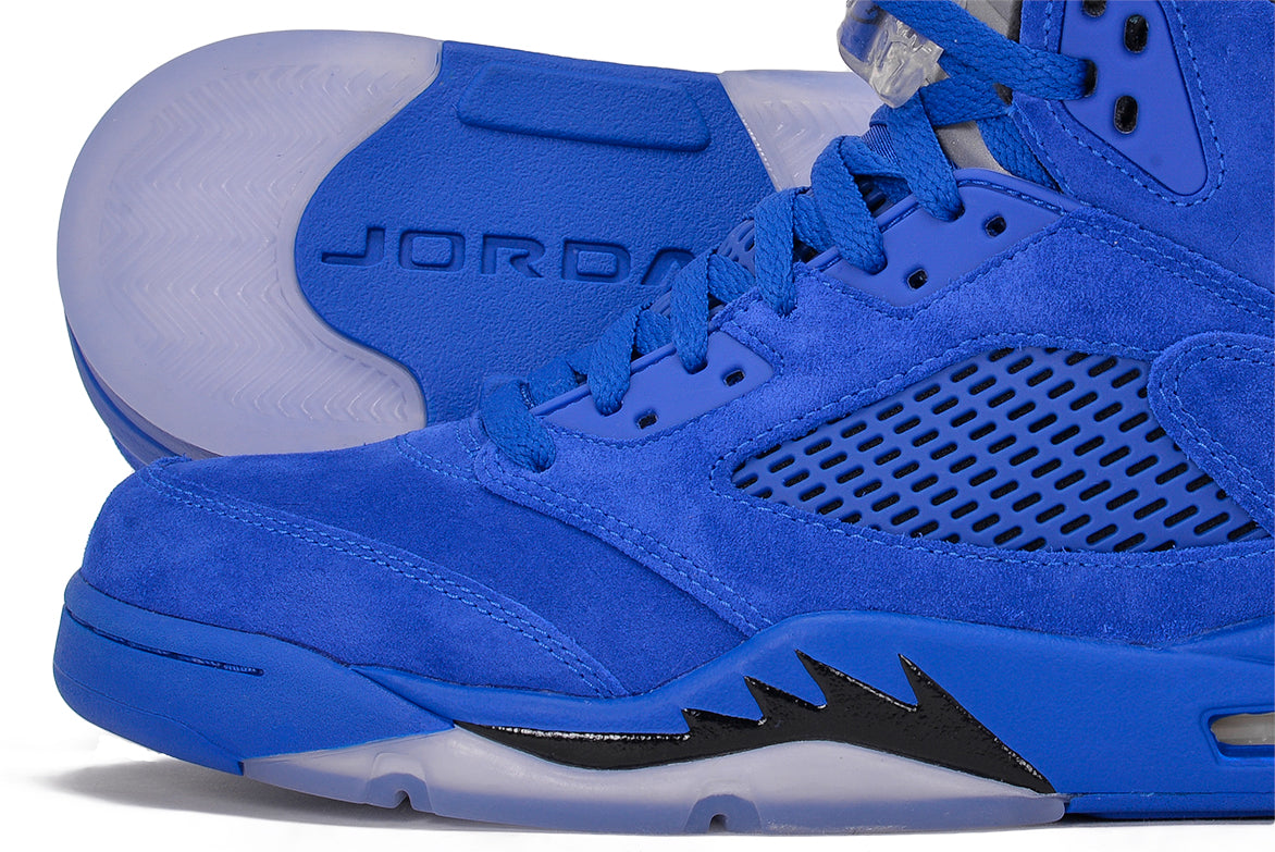 "AIR JORDAN 5 RETRO ""BLUE SUEDE"""