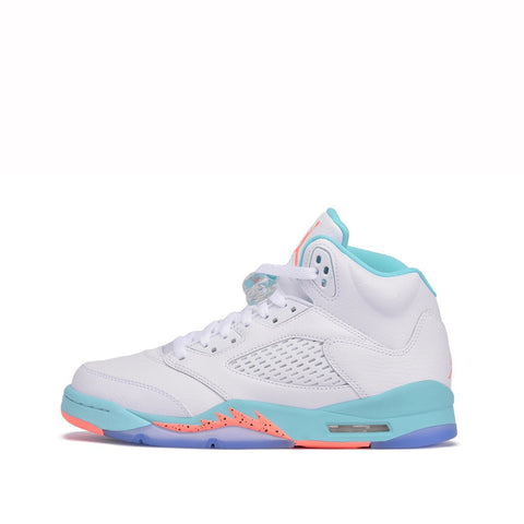 "AIR JORDAN 5 RETRO (GS) ""LIGHT AQUA"""
