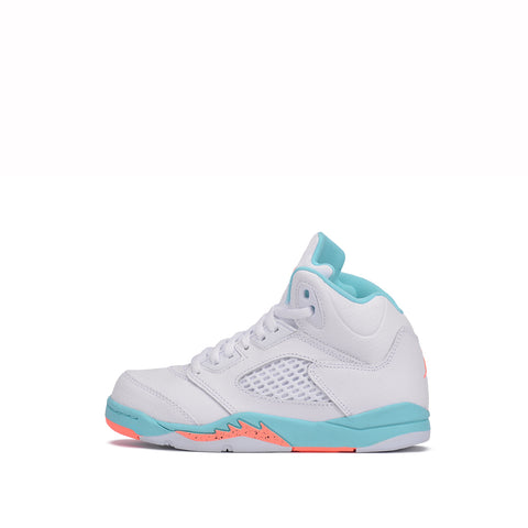 "AIR JORDAN RETRO 5 (PS) ""LIGHT AQUA"""
