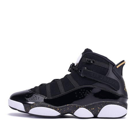 JORDAN 6 RINGS - BLACK / METALLIC GOLD