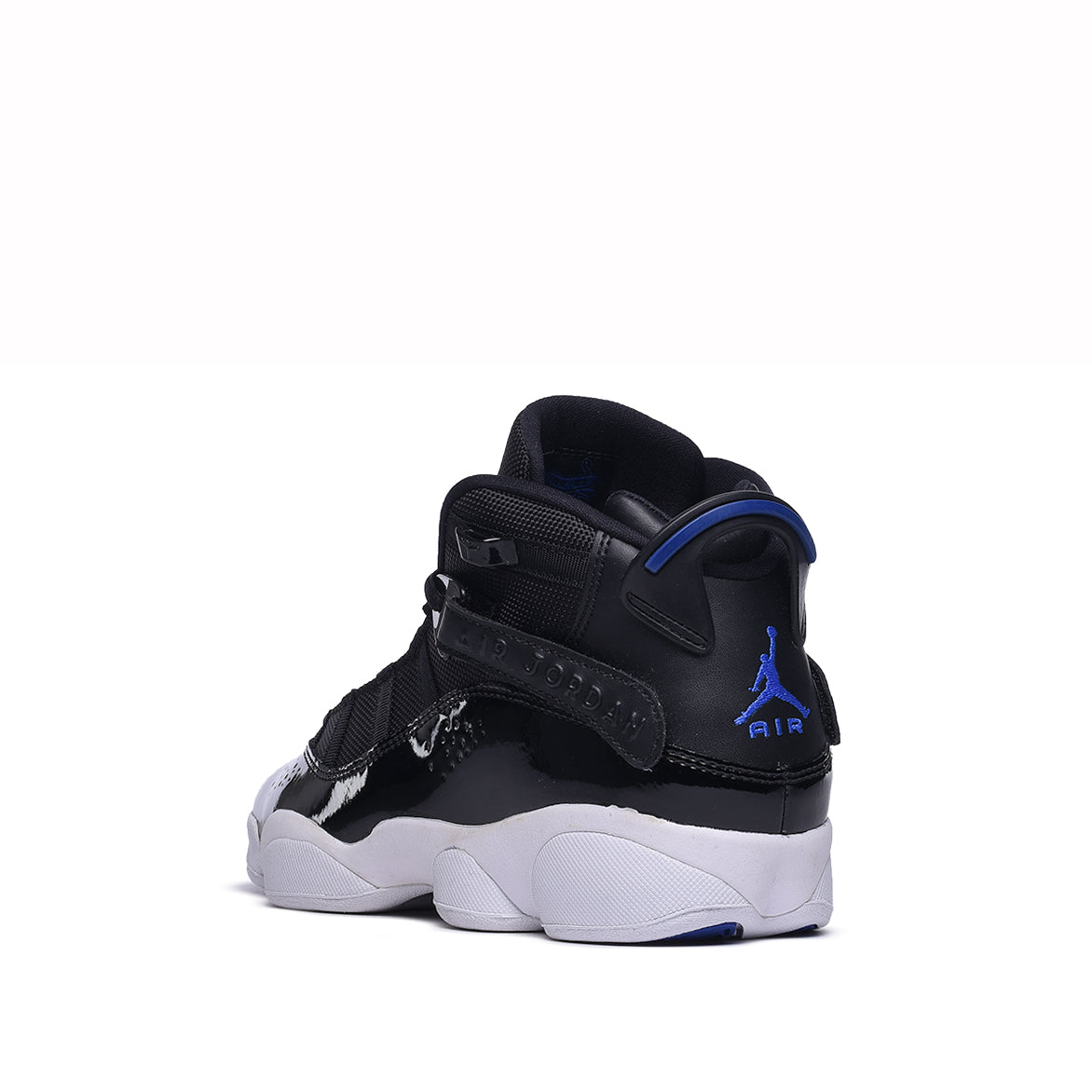 JORDAN 6 RINGS (GS) - BLACK / HYPER ROYAL / WHITE