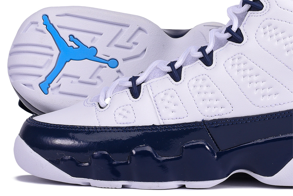 "AIR JORDAN 9 RETRO (GS) ""UNC"""