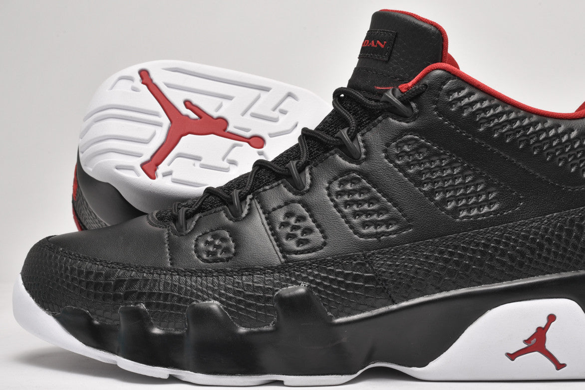 "AIR JORDAN 9 RETRO LOW ""BLACK / WHITE"""
