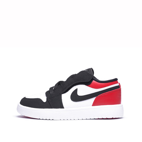JORDAN 1 LOW ALT (PS) - WHITE / BLACK / GYM RED