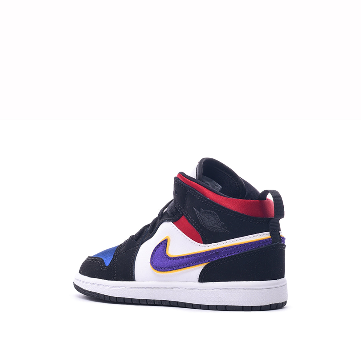 newest 6f533 623c4 AIR JORDAN 1 MID SE (PS) - BLACK / FIELD PURPLE
