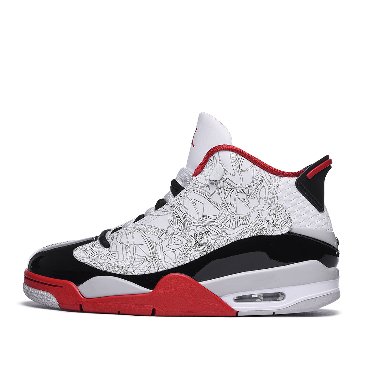DUB ZERO - WHITE / BLACK / VARSITY RED
