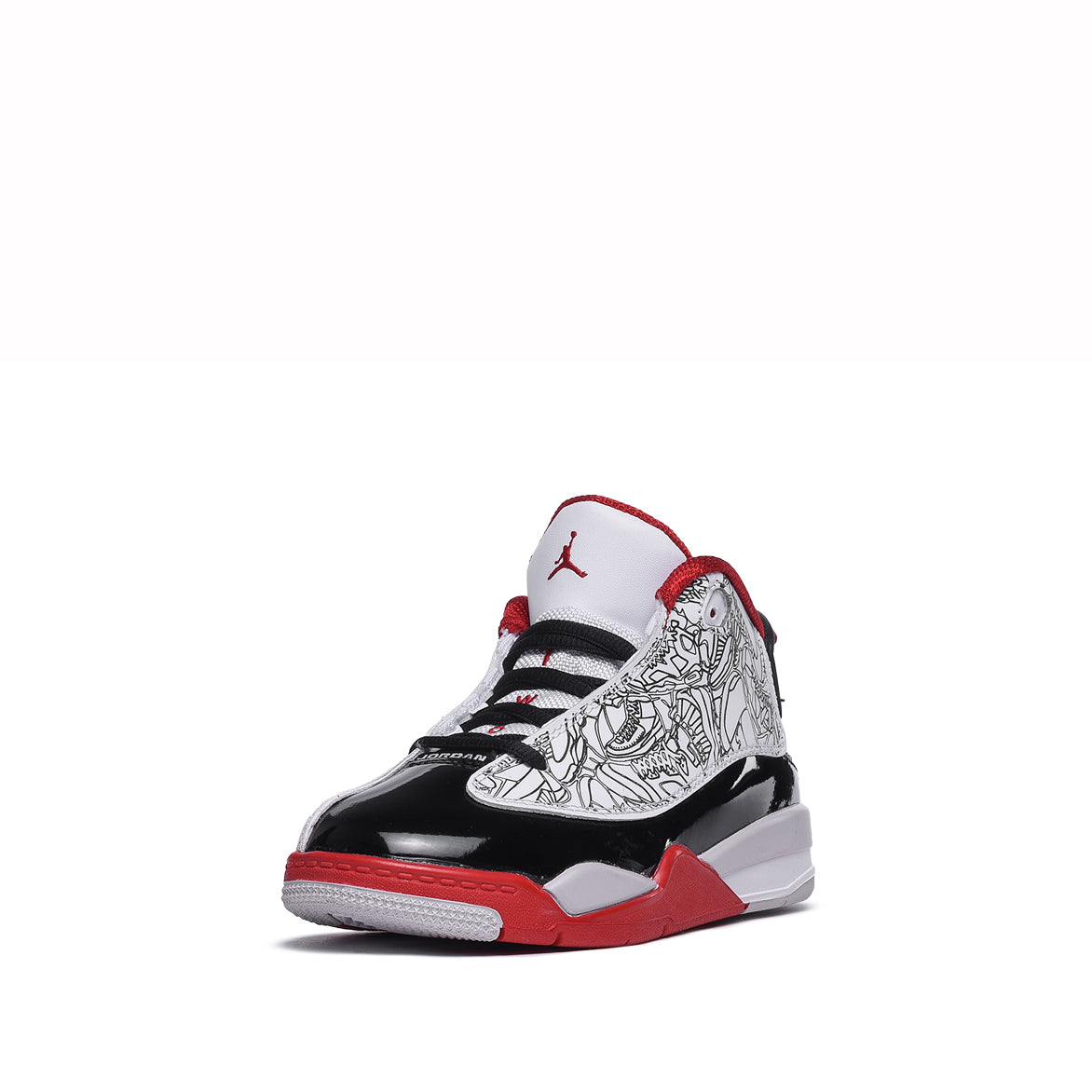 DUB ZERO (PS) - WHITE / BLACK / VARSITY RED