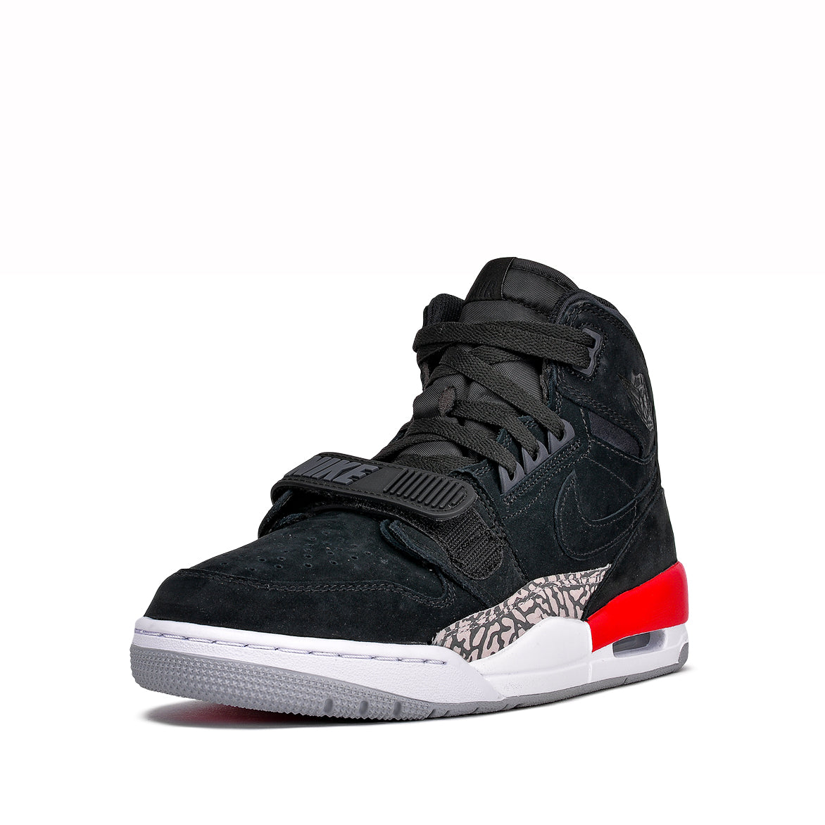 JORDAN LEGACY 312 - BLACK / FIRE RED