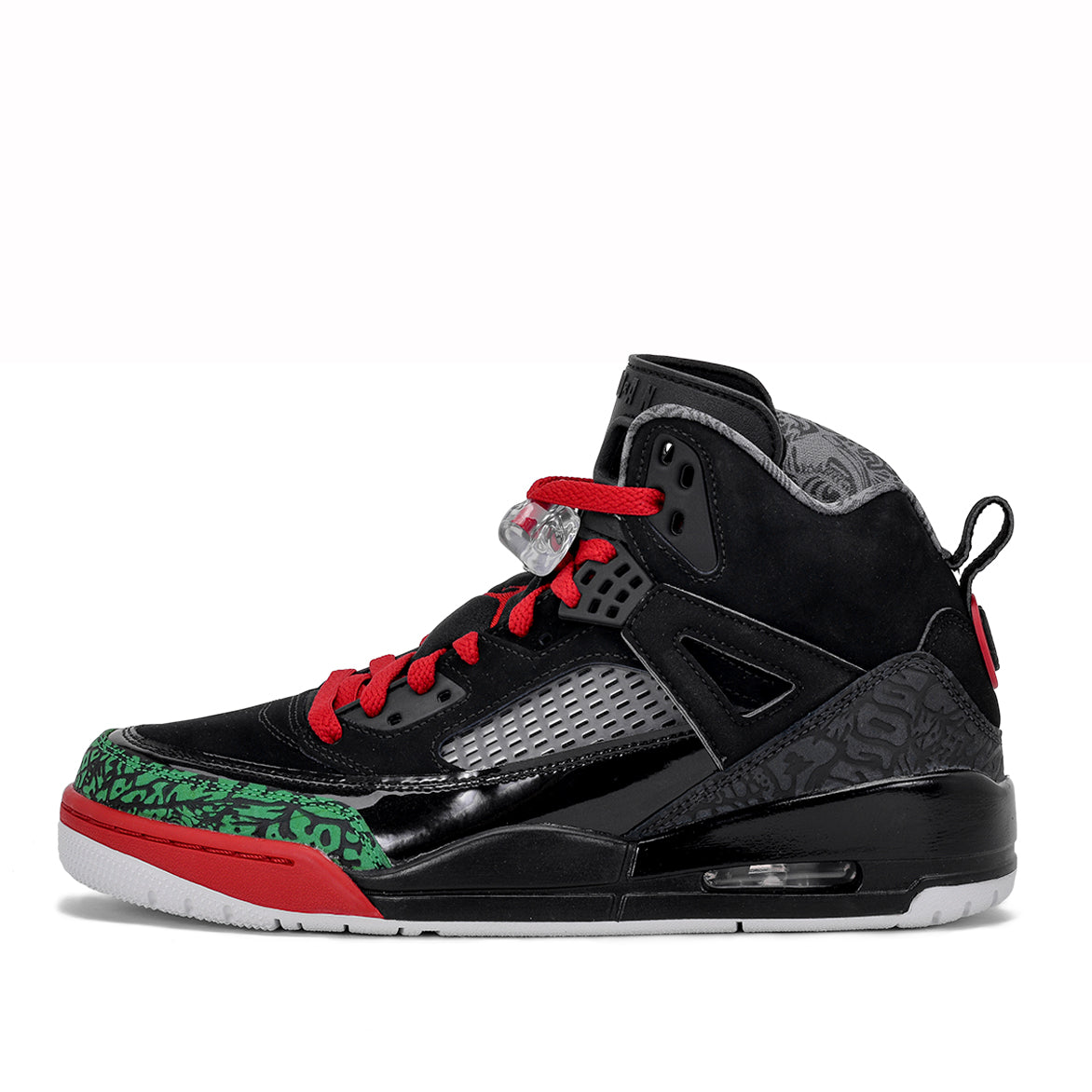 4946e6aaad3 JORDAN SPIZ'IKE - BLACK / VARSITY RED - CLASSIC GREEN | City Blue