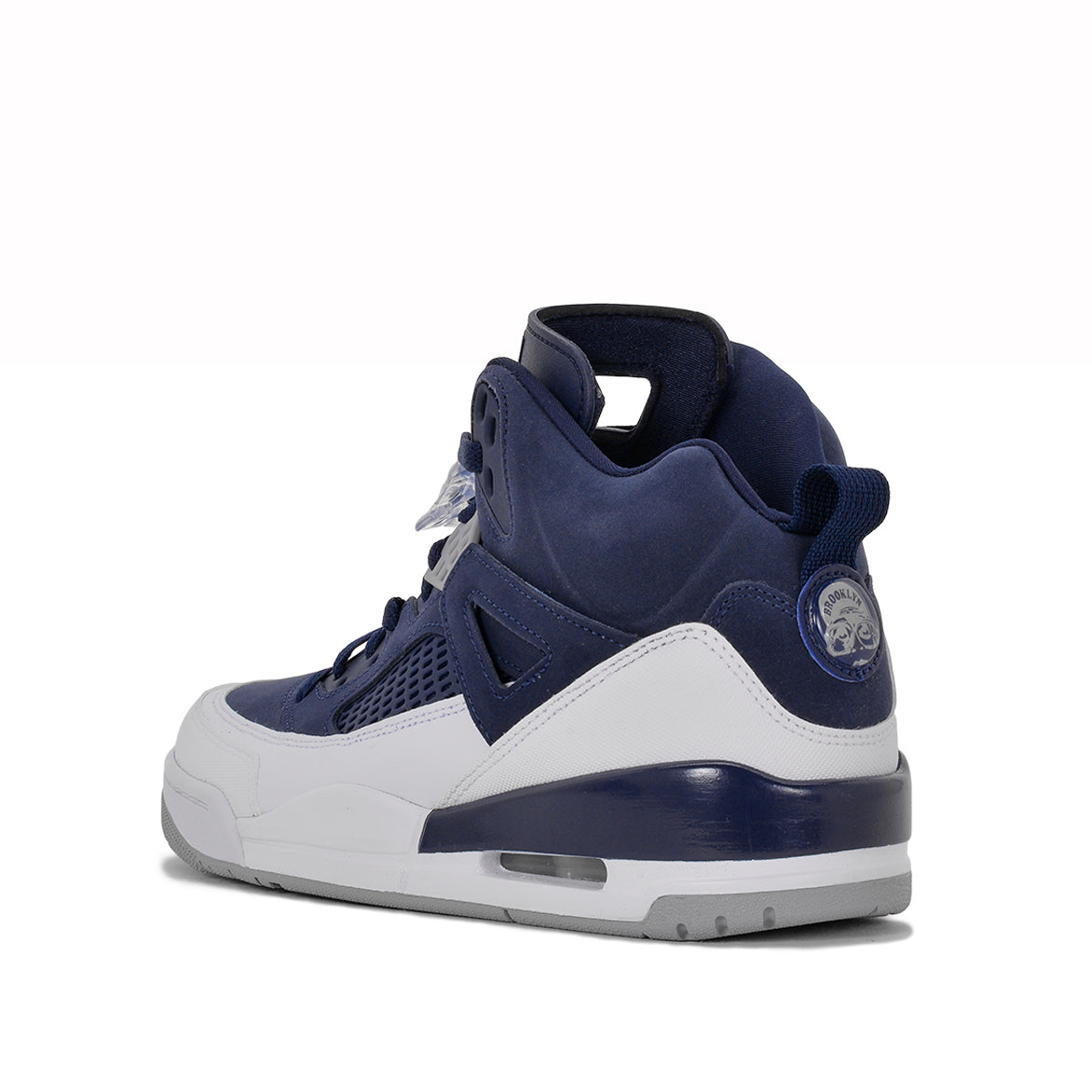JORDAN SPIZ'IKE - MIDNIGHT NAVY / METALLIC SILVER