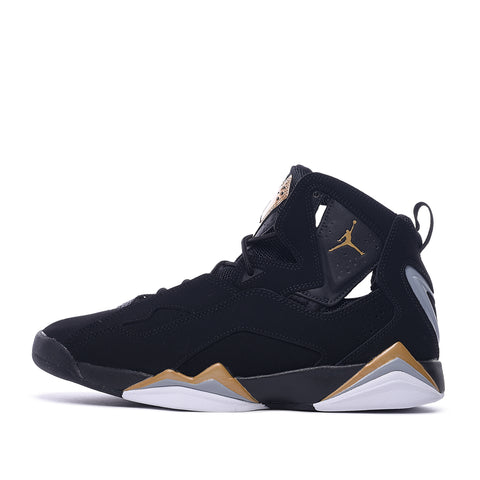 JORDAN TRUE FLIGHT - BLACK / METALLIC GOLD / WOLF GREY