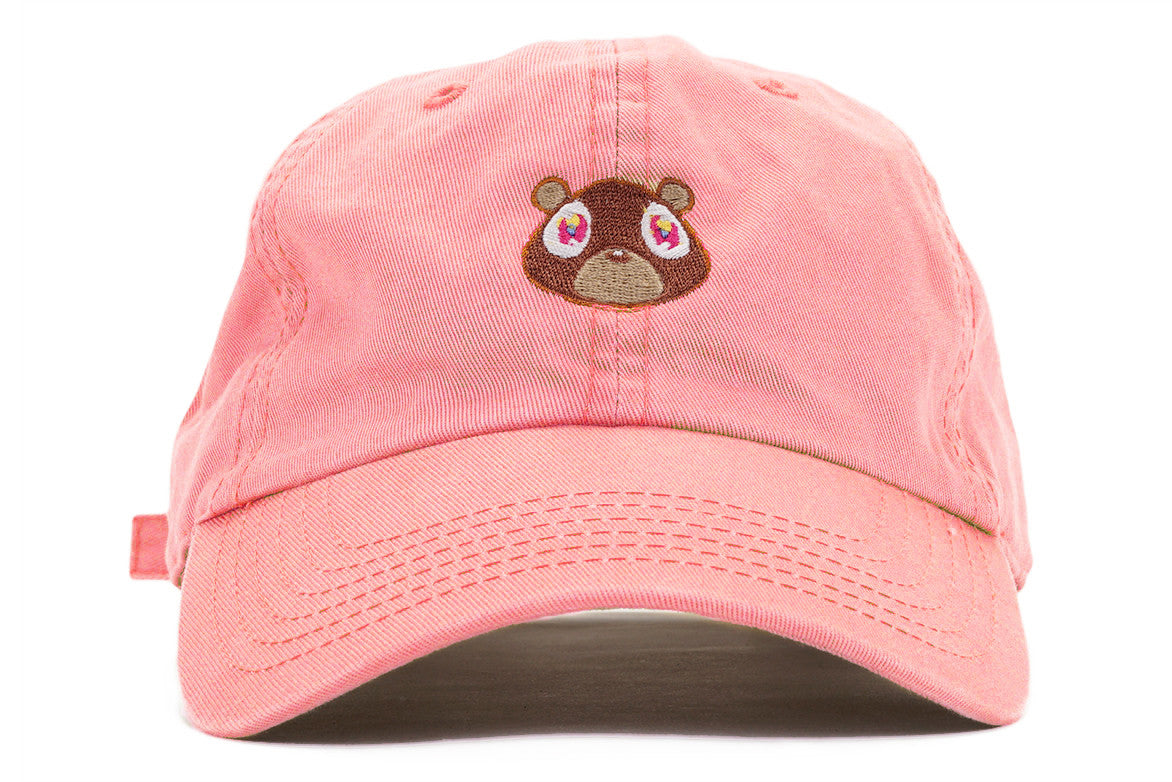 """YE BEAR"" DAD HAT- PINK"