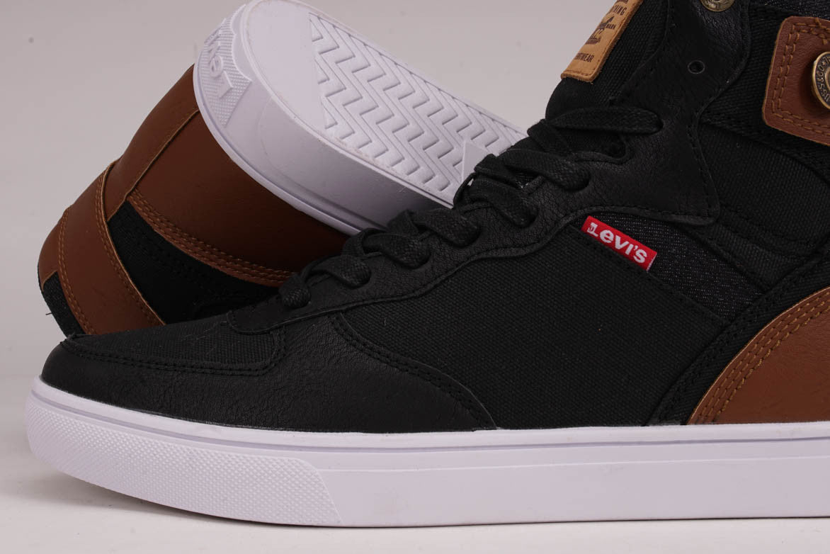 JEFFREY HI 501 CORE - BLACK / TAN