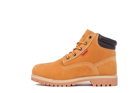 "TOBEY 6"" NUBUCK BOOT (YOUTH) - WHEAT"
