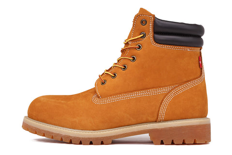 "HARRISON 6"" WHEAT NUBUCK BOOT"