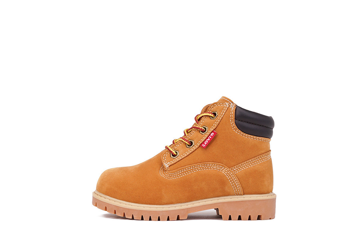"TOBEY 6"" NUBUCK BOOT (TODDLER) - WHEAT"