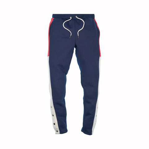 MAD CITY FLEECE PANTS - NAVY