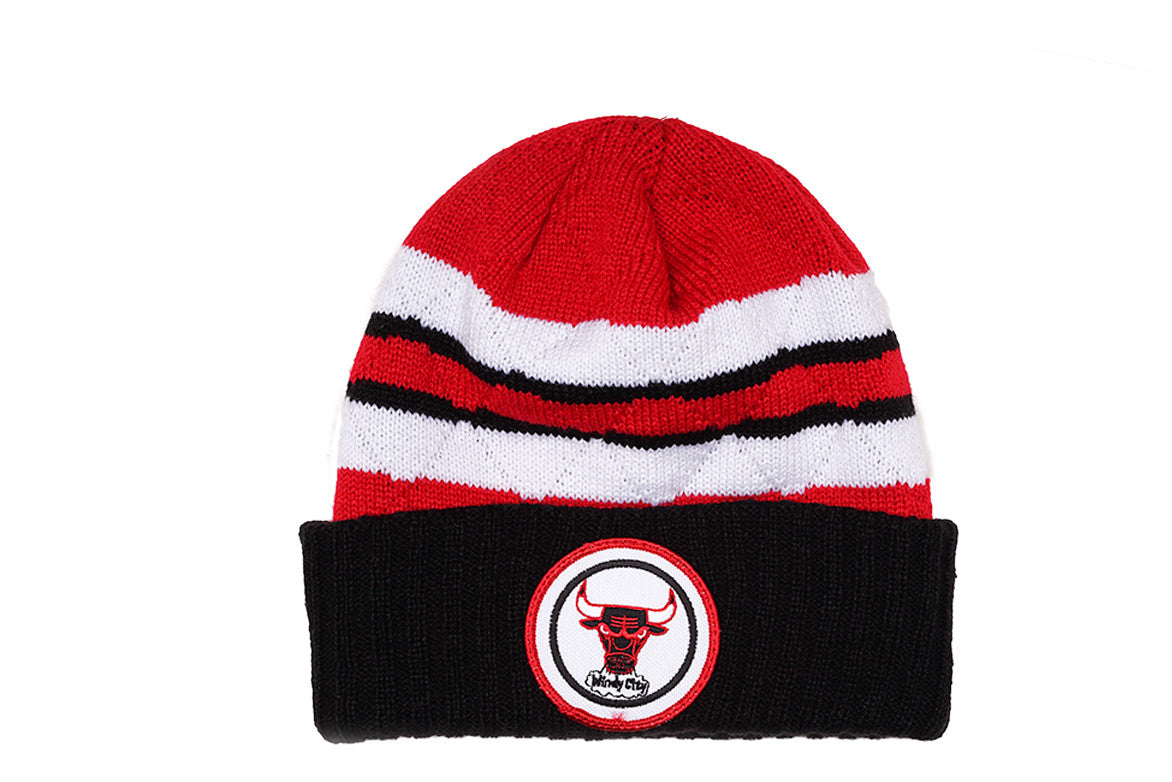 QUILTED CROWN TEAM STRIPE - BULLS