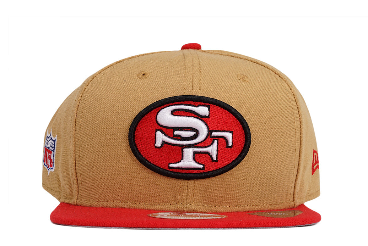 wholesale dealer ff1d2 4e323 ... purchase san francisco 49ers nfl baycik 9fifty snapback gold 90fe6 9d822
