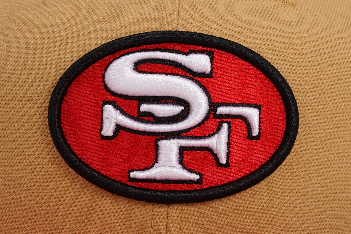 3150d2e3529 SAN FRANCISCO 49ERS NFL BAYCIK 9FIFTY SNAPBACK - GOLD | City Blue