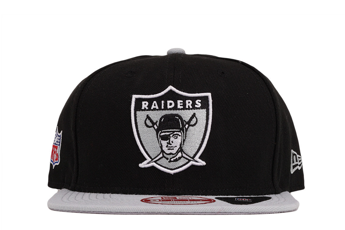 OAKLAND RAIDERS NFL BAYCIK 9FIFTY SNAPBACK - BLACK