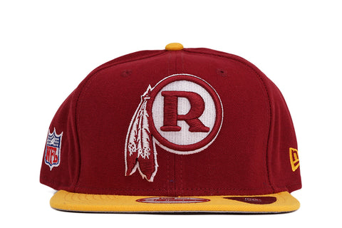 WASHINGTON REDSKINS NFL BAYCIK 9FIFTY SNAPBACK - BURGUNDY