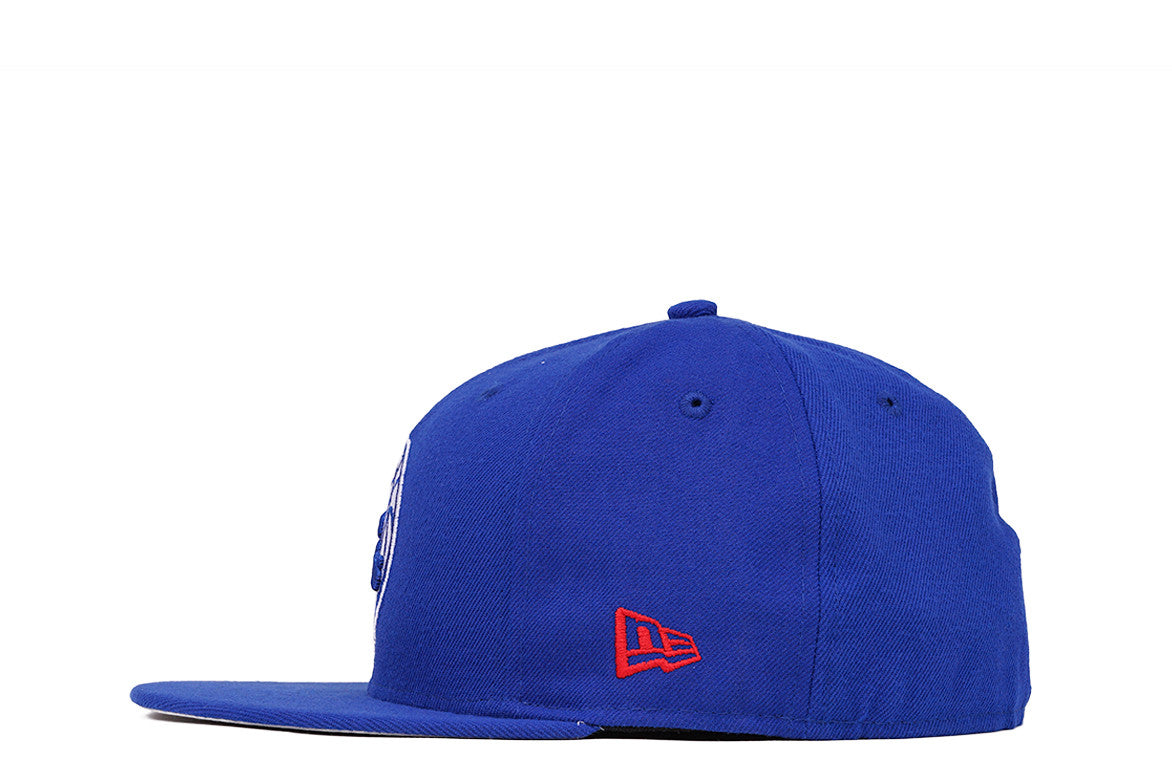 5950 76ERS FITTED HAT - BLUE