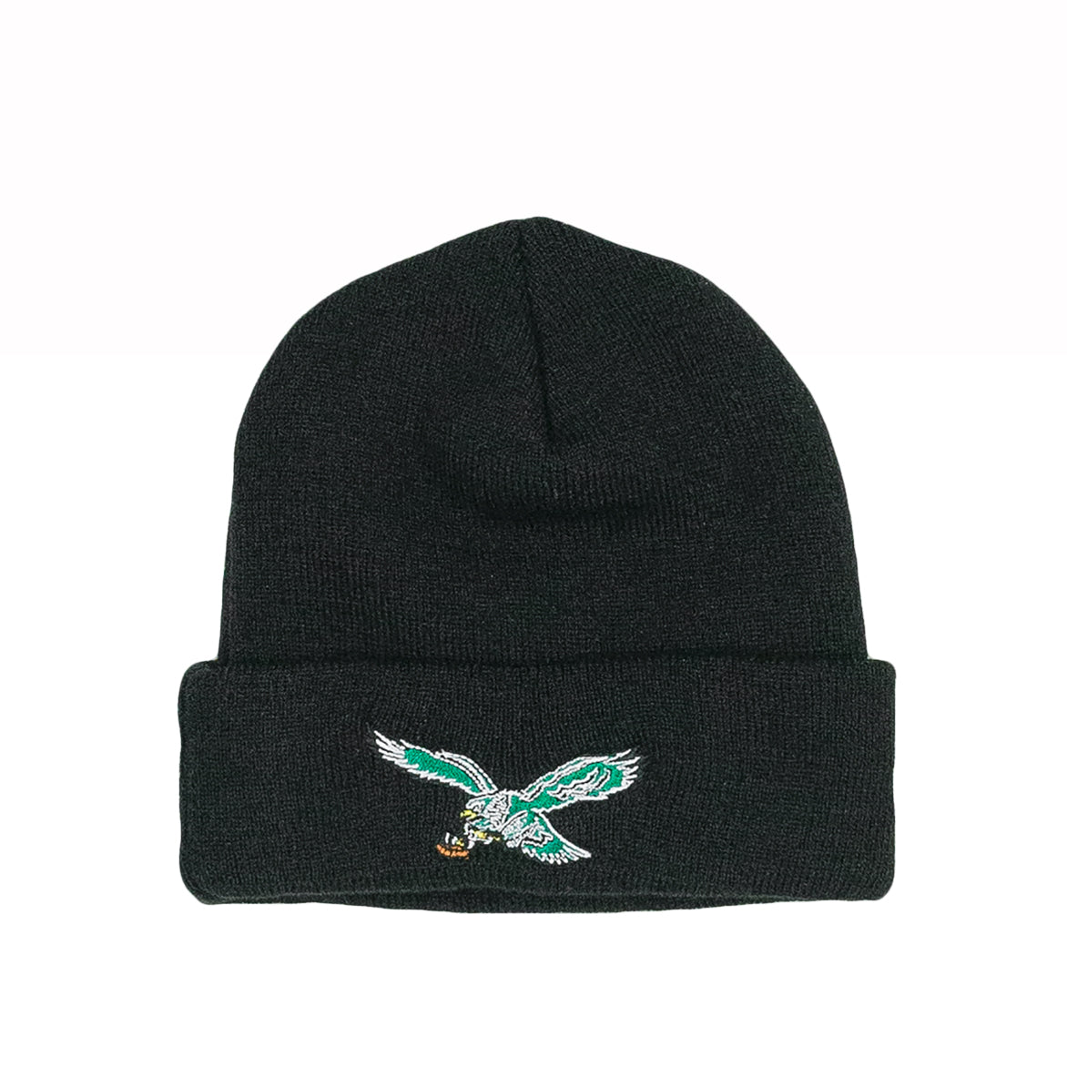 PHILADELPHIA EAGLES THROWBACK SKULLY - BLACK