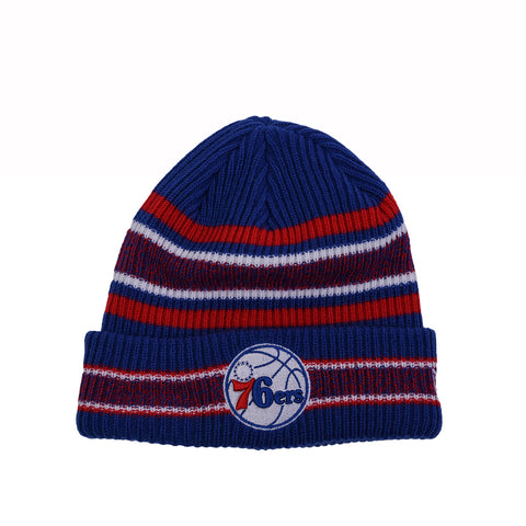 VINTAGE STRIPE KNIT SCULLY - 76ERS