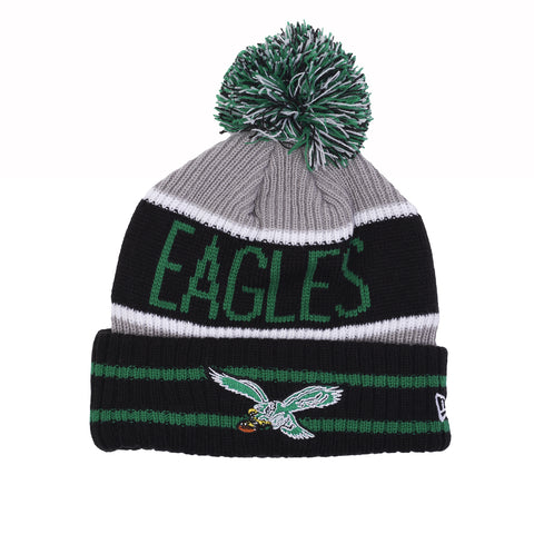 BANNER BLOCK KNIT BEANIE - EAGLES