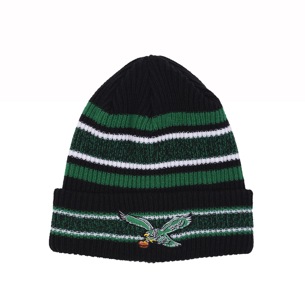 VINTAGE STRIPE KNIT SCULLY - EAGLES