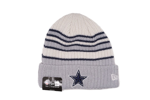 TRADITIONAL STRIPE KNIT HAT - COWBOYS