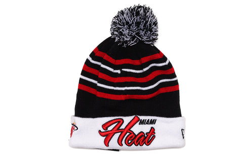 SNOW STRIPE KNIT - HEAT