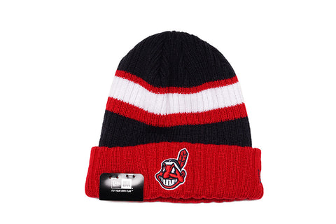 RIB START KNIT HAT - INDIANS