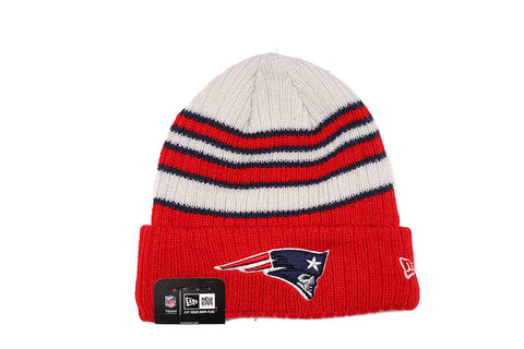 TRADITIONAL STRIPE KNIT HAT - PATRIOTS