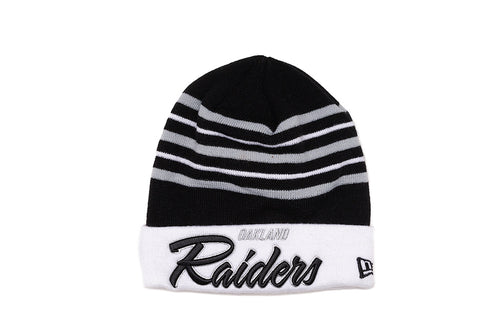 SNOW STRIPE KNIT - RAIDERS