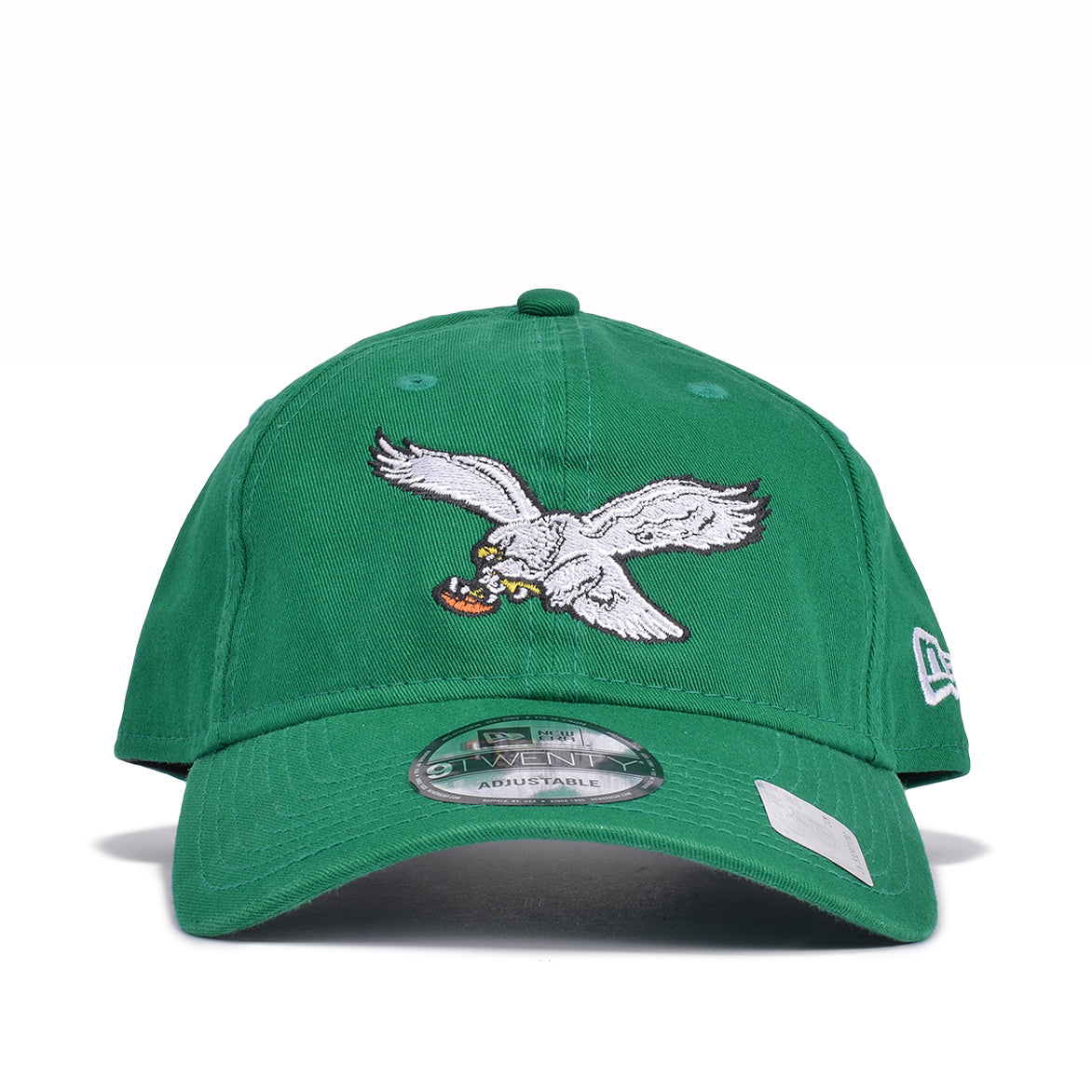 871ba3ebf6c PHILADELPHIA EAGLES THROWBACK DAD HAT - KELLY GREEN
