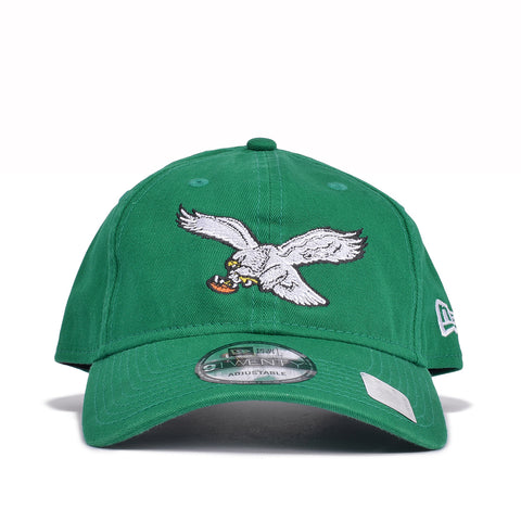 PHILADELPHIA EAGLES THROWBACK DAD HAT - KELLY GREEN