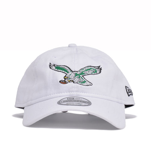 PHILADELPHIA EAGLES THROWBACK DAD HAT - WHITE