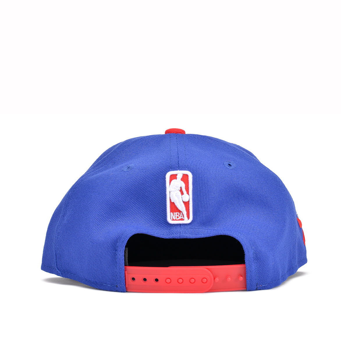 76ERS SCRIPTED TURN 9FIFTY SNAPBACK - BLUE / RED