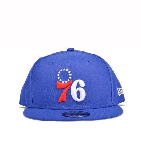 76ERS 9FIFTY LOGO SNAPBACK - BLUE