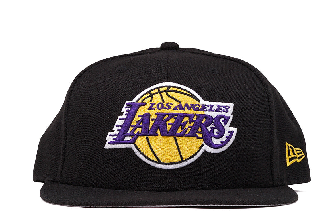 wholesale dealer d4463 80f64 ... buy 5950 lakers fitted hat black b6b31 022ae 50% off los angeles lakers  new era 59fifty hardwood classic nba fitted ...