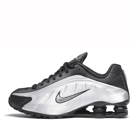 SHOX R4 - BLACK / METALLIC SILVER