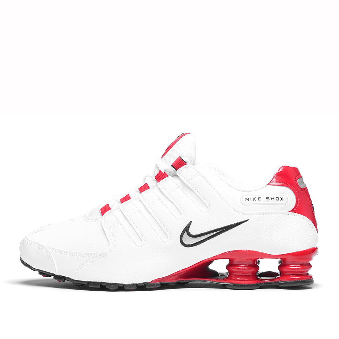 best loved bc376 94851 SHOX NZ - WHITE / UNIVERSITY RED