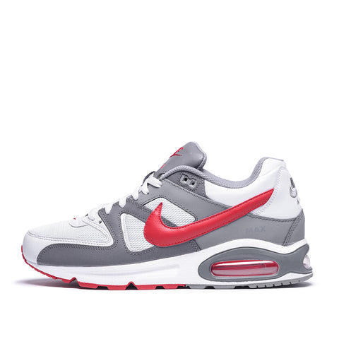 AIR MAX COMMAND - PURE PLATINUM / GYM RED