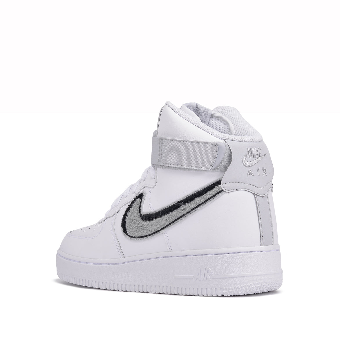 "AIR FORCE 1 HIGH `07 LV8 ""CHENILLE SWOOSH"" - WHITE"